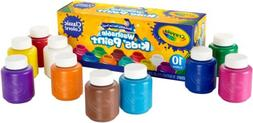Crayola 10 Count Washable Kids Paint 2 Oz. Bottles Kids Arts