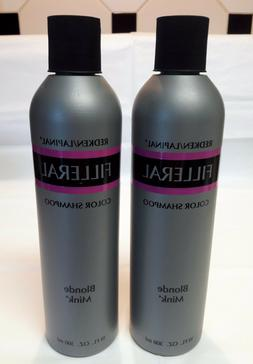 2 Redken Lapinal FILLERAL Color Shampoo Blonde Mink Disconti