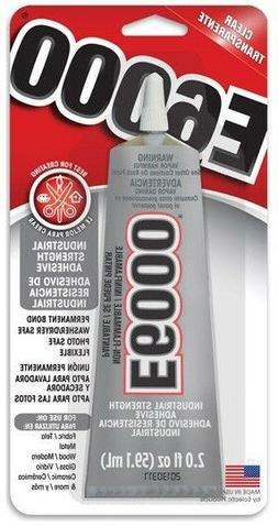 Eclectic Products 237032 2 oz. E-6000 Craft Adhesive Tube, C