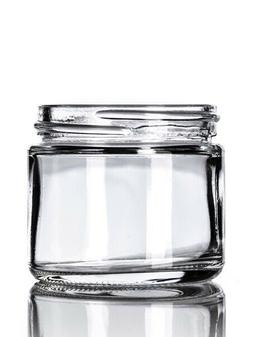2oz Child Resistant Glass Jars with Caps