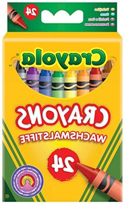 Crayola 523024 Classic Color Pack Crayons, 24 Colors/Box