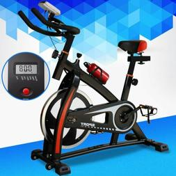 440lb Fitness Stationary Exercise Bike Cardio Indoor Cycling