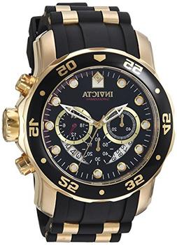 Invicta Men's 6981 Pro Diver Analog Swiss Chronograph Black