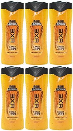 Axe Exfoliating Shower Gel, Snake Peel, 16 Ounces