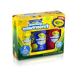 Crayola 8-Ounce Primary Washable Fingerpaint