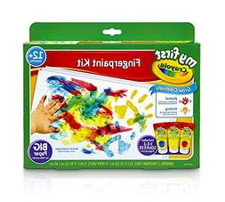Crayola My First Fingerpaint Kit, Washable Paint, Gifts, Age