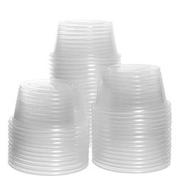 Crystalware, Disposable 2oz. Plastic Portion Cups Without Li