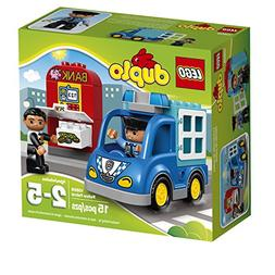 LEGO Duplo Town Police Patrol 10809 Toddler Toy, Large Build
