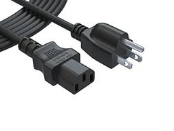 PWR+ UL Listed 12 Ft 3 Prong Ac Power Cord for LCD Tv Plasma