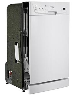 "SPT SD-9252W Energy Star 18"" Built-In Dishwasher, White"