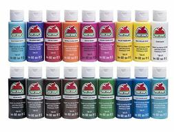 apple barrel acrylic paint set 18 piece