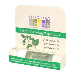 Aura Cacia Aromatherapy Roll On, Cooling Peppermint, 0.31 Fl
