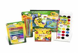 Crayola Arts & Craft Paint For Kids Pack Fun Learning Colori