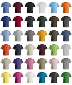 Hanes Beefy-T 6.1 oz.  Cotton T-Shirt 5180  41 Colors  NEW H
