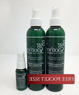 BUG SOOTHER Spray Bonus Pack - Includes FREE 1 oz. travel si