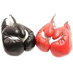 2 PAIRS KIDS 6 OZ BOXING GLOVES YOUTH PRACTICE TRAINING Faux