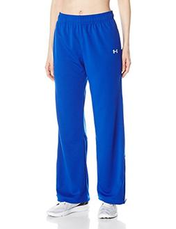 Under Armour Women's Campus Knit Pant, Royal /White, Small
