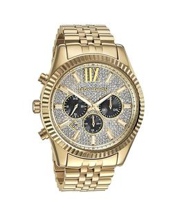 Women's Michael Michael Kors 'Lexington' Chronograph Bracele