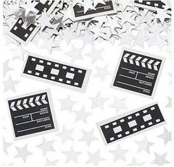 CLAPBOARD & FILM REELS Awards Party TABLE CONFETTI 1 pack Ho