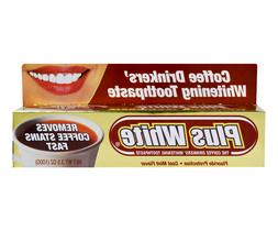 Plus White The Coffee Drinkers Whitening Toothpaste, Cool Mi