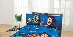 """Disney Toy Story """"Don't Toy with Us"""" Excellent Bedding Set K"""
