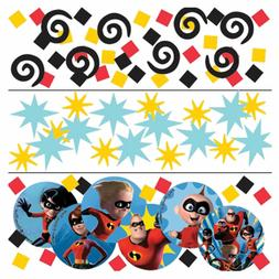 Disney Incredibles 2 Confetti 1.2oz.  Children Birthday Part