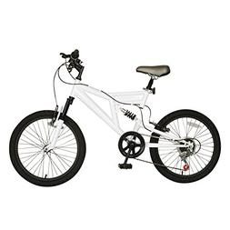 Cycle Force Dual Suspension Mountain Bike, 20 inch Wheels, 1
