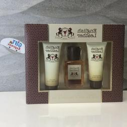 ENGLISH LEATHER by Dana Gift Set 3.4 oz Cologne Body Spash 2