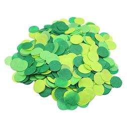 Mybbshower Green Paper Confetti Birthday Party Decorations S