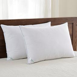 downluxe Set of 2 Hypoallergenic Down Alternative Bed Pillow