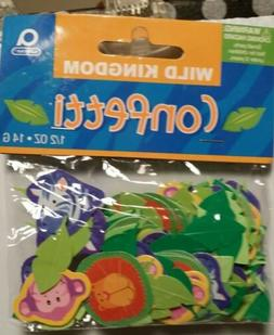 Amscan International Confetti Jungle Animals