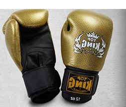 "TOP KING ""EMPOWER CREATIVITY"" MUAY THAI BOXING GLOVES -TKSGE"