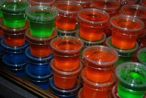 1 oz Jello Jelly Shot Cups with Lids Option Souffle Portion