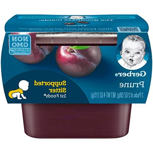 1st foods prune baby food tubs pack