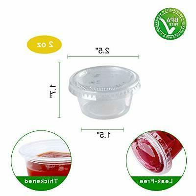 TashiBox 200 2 Plastic Jello Cups