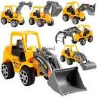 6Pcs Construction Vehicle Truck Push Engineering Toy Cars Ch