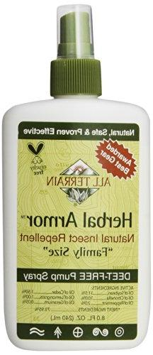 All Terrain - Herbal Armor Natural Insect Repellent Deet-Fre