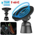 Qi Wireless Fast Car Charger Magnetic Air Vent Mount Holder