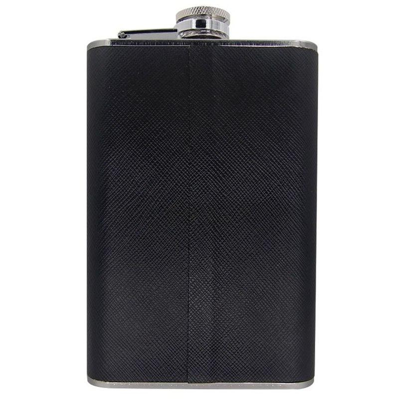 Alcohol Shot Flask Stainless Steel 8 Hip <font><b>2</b></font> Glass & Funnel Whiskey Barware