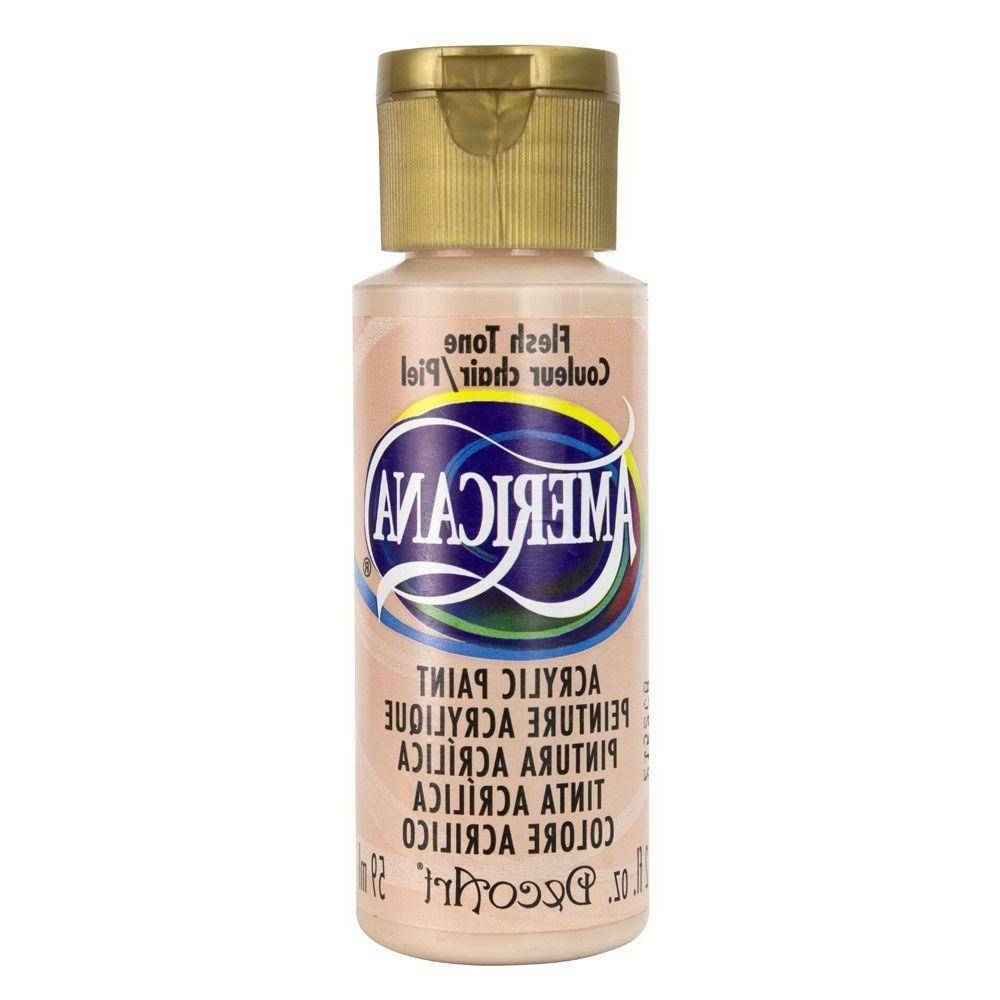 DecoArt Americana Acrylic Paint, 2-Ounce, Flesh Tone NEW