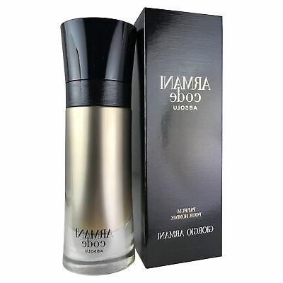 armani code absolu for men by 2