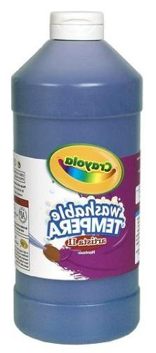 Artista II Washable Tempera Paint Size: 32 oz, Color: Blue