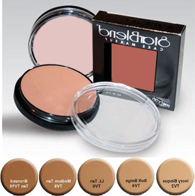 authentic starblend 2oz cake makeup professional theatrical
