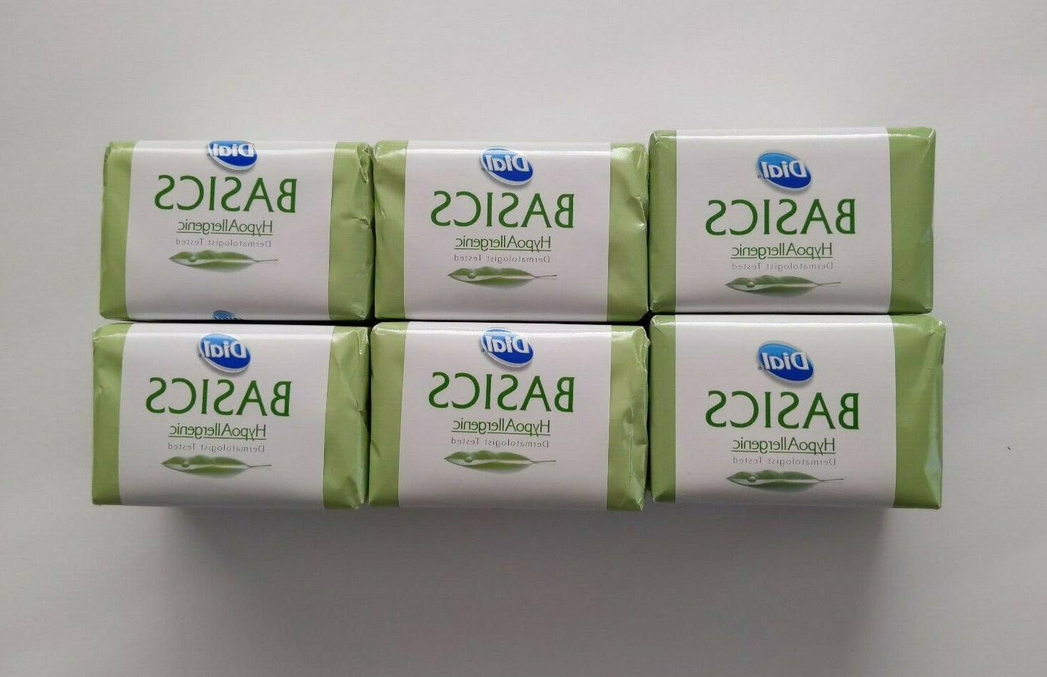Dial HypoAllergenic Dermatologist Tested Bars oz