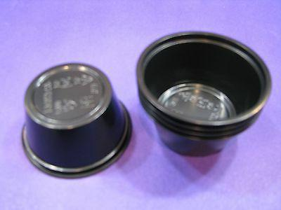 Black Jello Shot Cups 2oz.plastic Condiment 50 portions No L