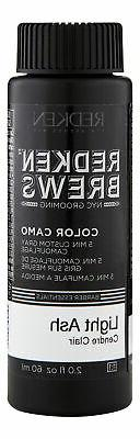 Redken Brews Men's Hair Color 2 oz 60 ml 7NA Light Ash. Hair