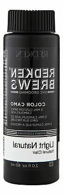 Redken Brews Men's Hair Color 2 oz 60 ml 8N Light Natural. H