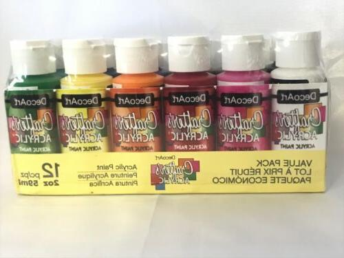 crafter acrylic paint value