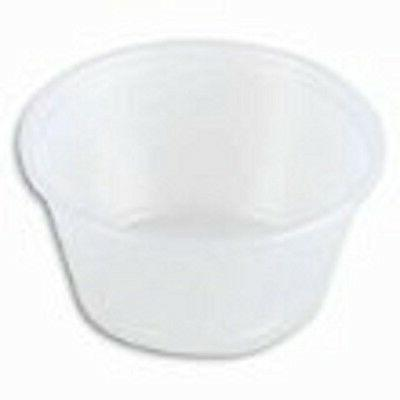 Dart P200N 2 oz Translucent PS Portion Container