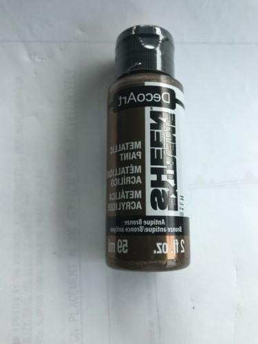DecoArt DPM08 Extreme Sheen Premium Metallic Acrylic Paint,